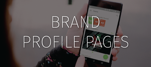 Brand Profile Pages